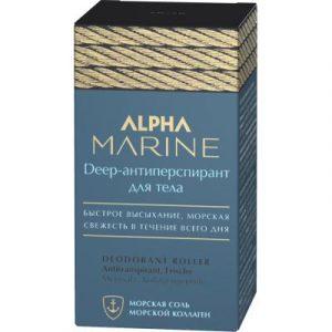Антиперспирант шариковый Estel Alpha Marine Deep