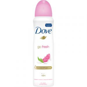 Антиперспирант-спрей Dove Go Fresh пробуждение чувств