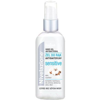 Антисептик для рук Farmona Nivelazione антибактериальный гель для чувствительной кожи