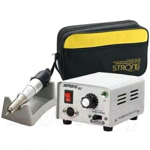 Аппарат для маникюра STRONG 90N/120 без педали с сумкой 30000 об/мин