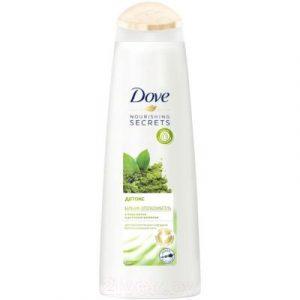 Бальзам для волос Dove Nourishing Secrets детокс с матча и рисовым молоком