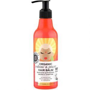 Бальзам для волос Planeta Organica Hair Super Food объем и энергия