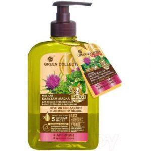 Бальзам-маска для волос Green Collection Мягкая Против выпадения и ломкости волос