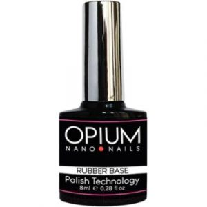 База для гель-лака Opium Nano nails Rubber base Каучуковое