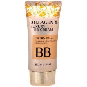 BB-крем 3W Clinic Collagen&Luxury Gold