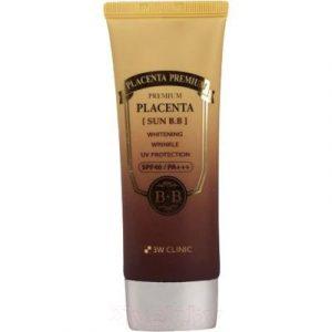 BB-крем 3W Clinic Premium Placenta Sun солнцезащитный