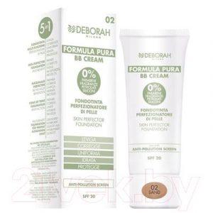 BB-крем Deborah Milano Formula Pura Skin Perfector Foundation SPF20 тон 02