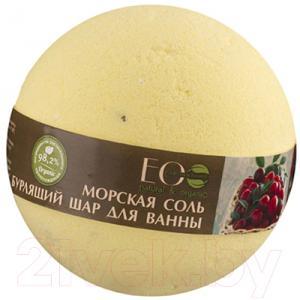 Бомбочка для ванны Ecological Organic Laboratorie Черная смородина и клюква