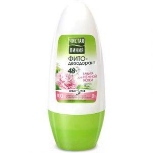 Дезодорант шариковый Чистая Линия Фито Защита для нежной кожи