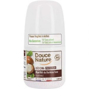 Дезодорант шариковый Douce Nature Nature органический с маслом ши каритэ