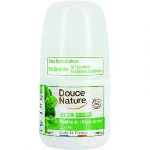 Дезодорант шариковый Douce Nature Органический с мятой перечной