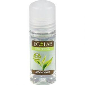 Дезодорант шариковый Ecological Organic Laboratorie Deo Crystal Кора дуба и зеленый чай