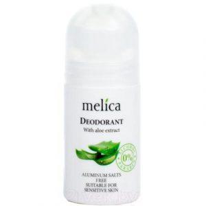 Дезодорант шариковый Melica Organic С экстрактом алоэ