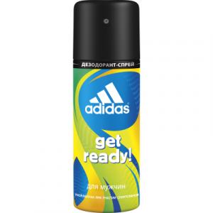 Дезодорант-спрей Adidas Cool & Care Get Ready! 48ч