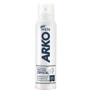 Дезодорант-спрей Arko Men Crystal