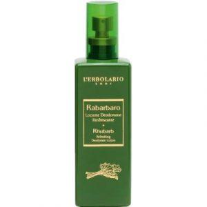 Дезодорант-спрей L'Erbolario Лосьон-дезодорант Освежающий Ревень