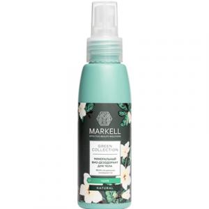 Дезодорант-спрей Markell Green Collection минеральный тиарэ