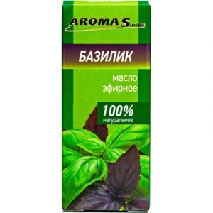 Эфирное масло Aroma Saules Базилик