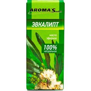 Эфирное масло Aroma Saules Эвкалипт