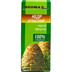 Эфирное масло Aroma Saules Кедр атласский