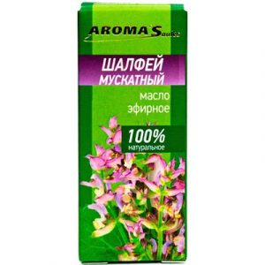 Эфирное масло Aroma Saules Мускатный шалфей