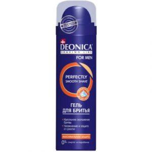 Гель для бритья Deonica For Men максимальная защита