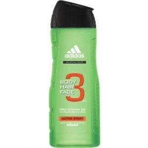 Гель для душа Adidas Body-Hair-Face Active Start