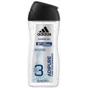 Гель для душа Adidas Body-Hair-Face Adipure