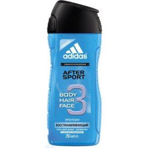 Гель для душа Adidas Body-Hair-Face After Sport
