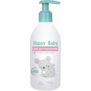 Гель для душа детский Liv Delano Happy Baby для подмывания с первых дней жизни