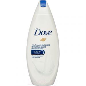 Гель для душа Dove Глубокое питание и увлажнение