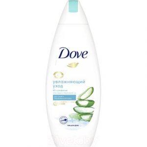 Гель для душа Dove С алоэ вера и березовым соком д/сухой и обезвож. кожи