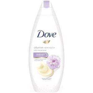 Гель для душа Dove Сливочная ваниль и пион