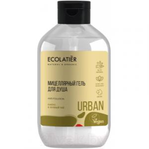 Гель для душа Ecolatier Urban мицеллярный кактус и зеленый чай