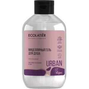 Гель для душа Ecolatier Urban мицеллярный рисовое молочко и ши