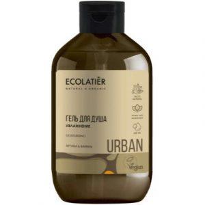 Гель для душа Ecolatier Urban увлажнение аргана и ваниль