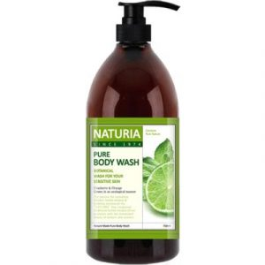 Гель для душа Evas Naturia Pure Body Wash Wild Mint & Lime