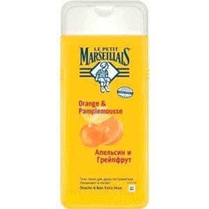 Гель для душа Le Petit Marseillais Апельсин и грейпфрут