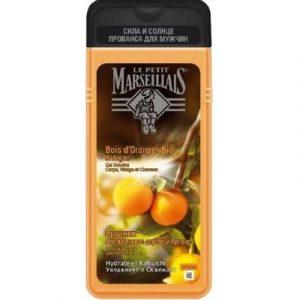 Гель для душа Le Petit Marseillais Апельсиновое дерево и аргана 3 в 1
