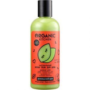 Гель для душа Organic Kitchen Домашний SPA Detox Натуральный Love You So Matcha