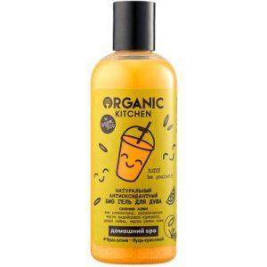 Гель для душа Organic Kitchen Домашний SPA Натуральный антиоксидантный. Juice Be Yourself!