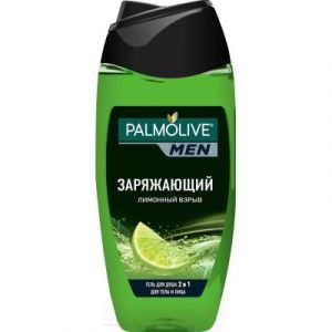 Гель для душа Palmolive Men заряжающий лимонный взрыв 2 в 1 для тела и лица
