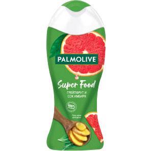 Гель для душа Palmolive Super Food Ягоды Грейпфрут и Сок Имбиря