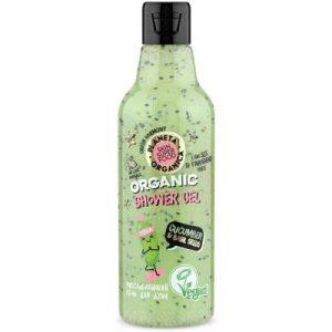 Гель для душа Planeta Organica Skin Super Food Seed Cucumber & Bazil Seeds расслабляющий