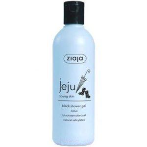 Гель для душа Ziaja Jeju Young Skin черный