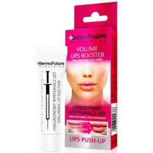 Гель для губ DermoFuture Филлер 100% сила гиалуроновой кислоты эффект push-up