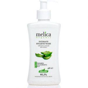 Гель для интимной гигиены Melica Organic Для интимной гигиены с молочной кислотой и экстрактом алоэ
