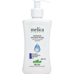 Гель для интимной гигиены Melica Organic с молочной кислотой и пантенолом