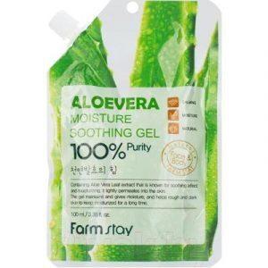 Гель для лица FarmStay Увлажняющий успокаивающий для лица и тела с экстрактом алоэ