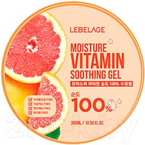 Гель для тела Lebelage Увлажняющий успокаивающий с витаминами